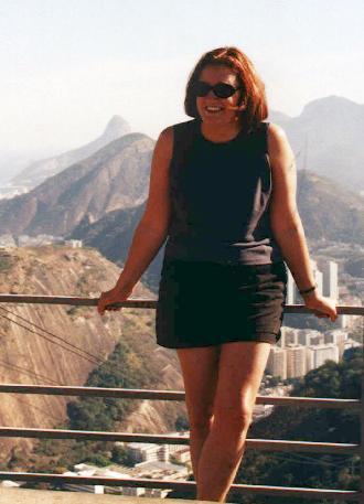 Deb at top of Pao