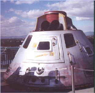 reentry module from Apollo 13