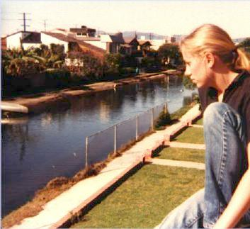 Bert on the Grand Canal, Venice Beach, California,