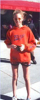 Liese with her orange shades
