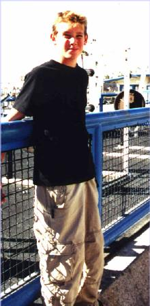 Tim at Muscle Beach, Venice