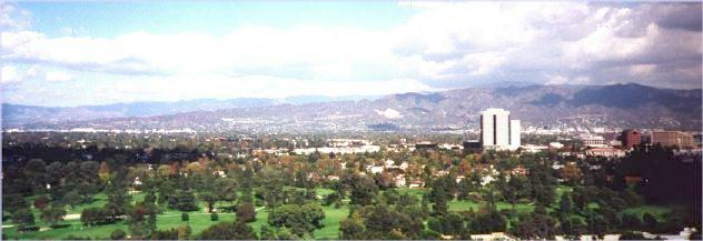 San Fernando Valley and San Gabriel Mountains